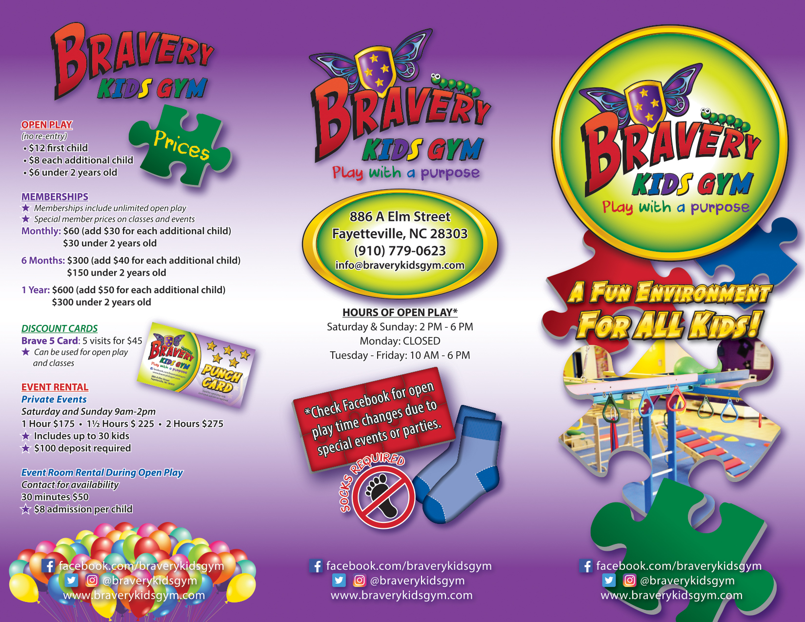 Bravery Brochure-Outside